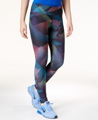 Energie Active Juniors' Printed Leggings Geo Print