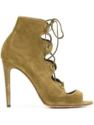 Tabitha Simmons 'Charlotte' Booties Green
