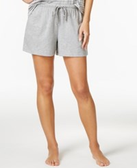 Nautica Boxer Pajama Shorts Heather Grey