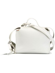 Jil Sander Small 'Clover' Bag Nude And Neutrals