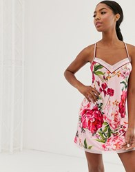 Ted Baker B By Serenity Jersey Chemise In Pink