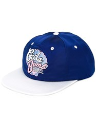 Gcds Shell Embroidered Cap Blue