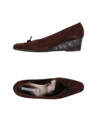 Mortarotti Montenapoleone Pumps Dark Brown