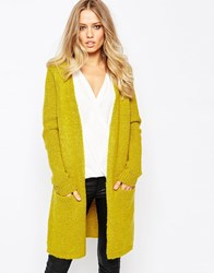 Y.A.S Blake Medium Long Cardigan Antiquemoss