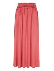 Hotsquash Coolfresh Maxi Skirt Coral