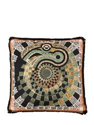 Missoni Snake Horoscope Cotton Pillow Multicolor