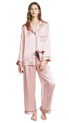 Kisskill Silk Pj Set Blush