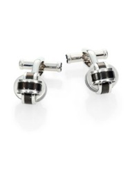 Montblanc Stainless Steel Knot Cuff Links
