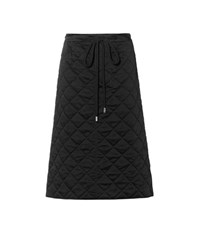 Marni Quilted Skirt Black