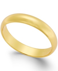 Giani Bernini Polished Band In 24K Gold Over Sterling Silver