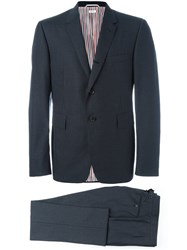 Thom Browne Two Piece Suit Black