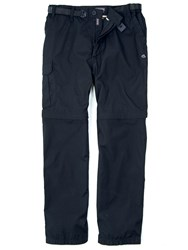 Craghoppers Kiwi Zipoff Trousers Black