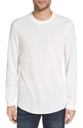 The Rail Men's Thermal Long Sleeve T Shirt White Snow