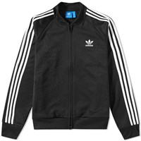 Adidas Relaxed Superstar Track Top Black