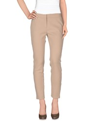 Fabrizio Lenzi Trousers Casual Trousers Women Sand