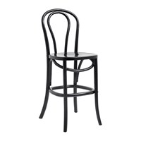 Nordal Bistro Bar Chair Shiny Black