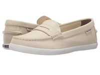 Cole Haan Pinch Weekender Sandshell Canvas Women's Slip On Shoes Yellow