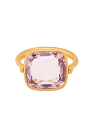 Marie Helene De Taillac Amethyst And Yellow Gold Swivel Ring