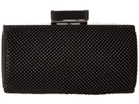 Jessica Mcclintock Christiana Ball Mesh Minaudiere Black Handbags