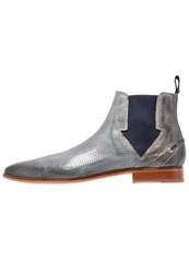 Melvin And Hamilton Lance 19 Boots Morning Grey Navy