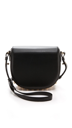 Alexander Wang Small Lia With Yellow Gold Hardware Black