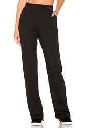 Cotton Citizen The Milan High Waisted Trouser Black