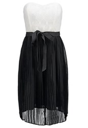 Morgan Sara Cocktail Dress Party Dress Noir Ecru Black