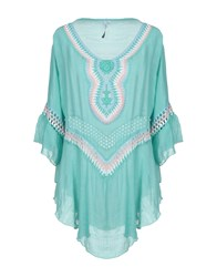 Care Of You Kaftans Light Green