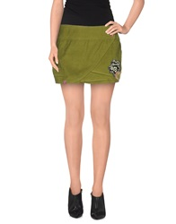 Komodo Mini Skirts Military Green