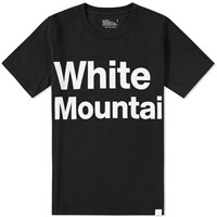 White Mountaineering Logo Print Tee Black