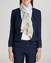 Ted Baker Scarf Blossy Long Window Blossom Light Purple