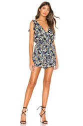 Cupcakes And Cashmere Meadow Romper Blue
