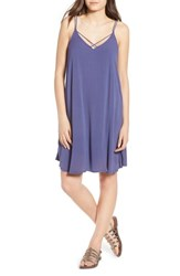 Roxy Half Year Old Trapeze Dress Crown Blue