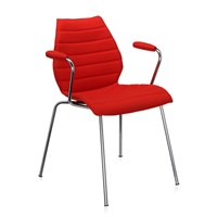 Kartell Maui Soft Armchair Red