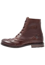 Sneaky Steve Meadows Laceup Boots Brown
