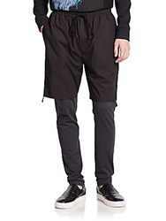3.1 Phillip Lim Hybrid Lounge Pants Soft Black