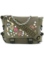 Zadig And Voltaire Sacs Ready Made Xs Bag Green