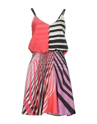 Guess By Marciano Short Dresses Coral