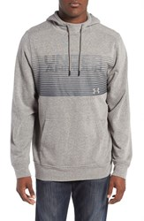 Under Armour Men's Fleece Hoodie Greyhound Heather