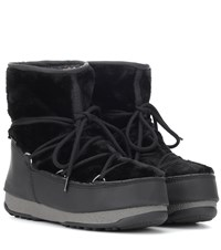 Moon Boot Monaco Low Ankle Boots Black