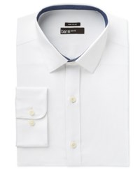 Bar Iii Men's Wear Me Out Slim Fit White Oxford Dress Shirt Only At Macy's