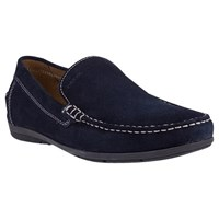 Geox Simon Suede Moccasins Blue