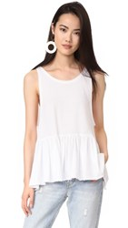 Free People Cantina Tank White