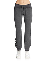 Saks Fifth Avenue Blue Cotton Jersey Lounge Pants Dark Grey