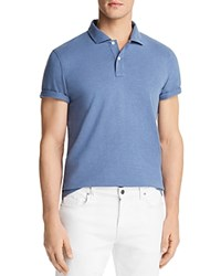 Bloomingdale's The Men's Store At Slub Jersey Enzyme Wash Classic Fit Polo 100 Exclusive Blue Horizon
