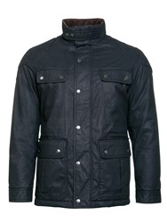 Raging Bull Men's Waxed Field Jacket Black