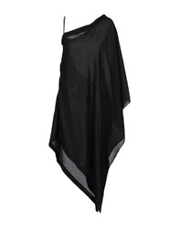 Lost And Found Capes Ponchos Black