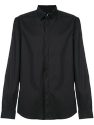 Mauro Grifoni Classic Button Down Shirt Black