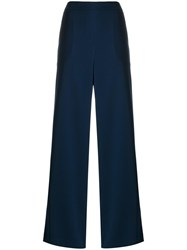 P.A.R.O.S.H. Pantera Wide Leg Trousers Blue