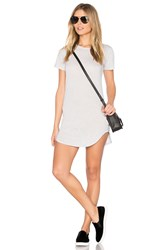 Candc California Adelise T Shirt Dress Gray